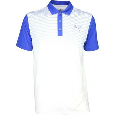 Puma Golf Shirt GT Colourblock Fade Surf the Web SS16