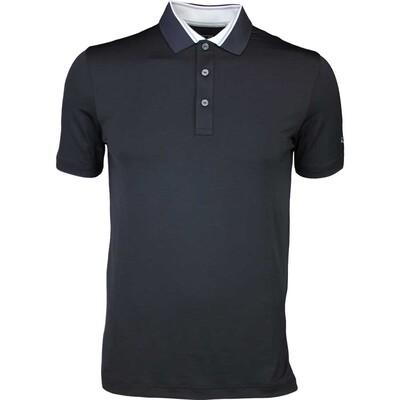 Puma Golf Shirt Tailored Tipped Black AW16