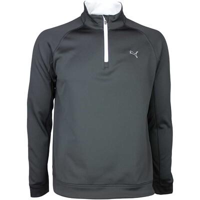 Puma Golf Pullover Fleece Popover Black SS16