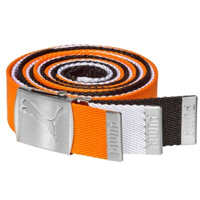 Puma Golf Belt Spectrum 3 in 1 Pack Vibrant Orange AW16