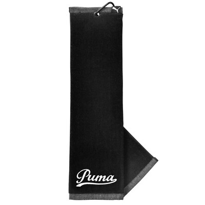 Puma Golf Towel Tri Fold Black AW16