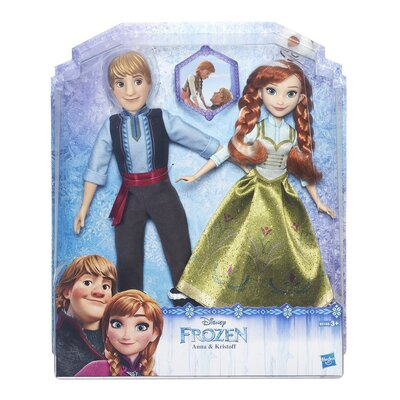 Disney Frozen Twin Doll Pack - Anna And Kristoff