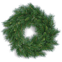 Windsor Pine Christmas Wreath with 100 Tips - 2ft / 60cm