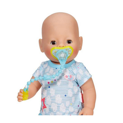 Baby born Dummy with Dummychain - Blue