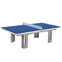 Butterfly B2000 Standard Concrete Table 30SQ Table Tennis Table - Blue