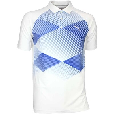 Puma Golf Shirt GT Argyle White AW16