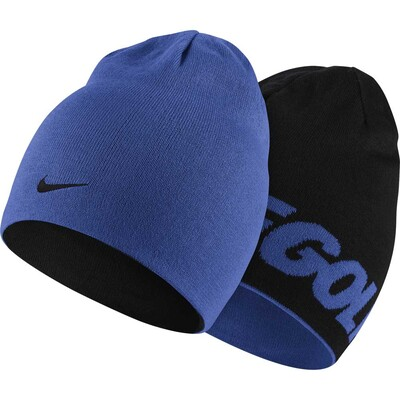 Nike Golf Beanie Reversible Knit Game Royal Black AW16