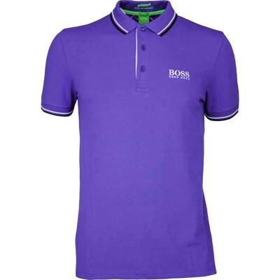 Hugo Boss Golf Shirt Paddy Pro Clematis Blue FA16
