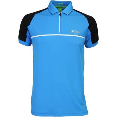 Hugo Boss Golf Shirt Prek Pro Blue Aster FA16