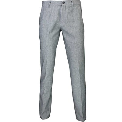 Hugo Boss Golf Trousers Hakan 9 Slim Grey Melange FA16