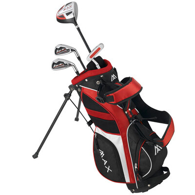 Big Max Supermax Junior Golf Set - Red, Right Hand