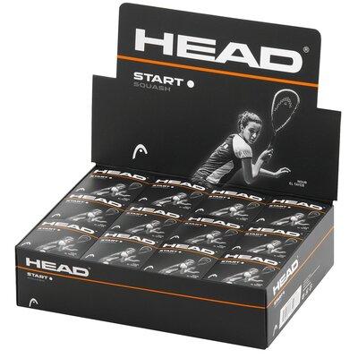 Head Start Squash Balls - 1 Dozen