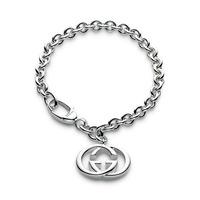 Gucci Silver Britt Sterling Silver Bracelet YBA190501001