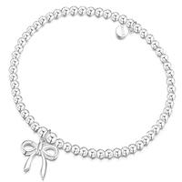 ROX Silver Bow Bracelet