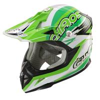 Image of Chaos Kids Motocross Crash Helmet Green