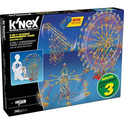 Knex 3 In 1 Classic Amusement Park Building Set