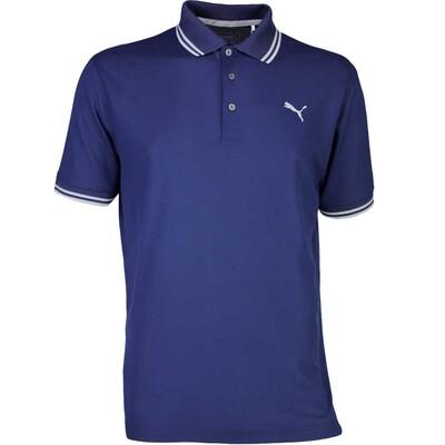 Puma Golf Shirt Pounce Pique Peacoat AW17