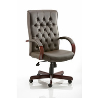 Image of Chesterfield Leather Armchair