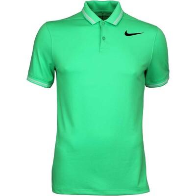 Nike Golf Shirt NK Dry Tipped Electro Green SS17