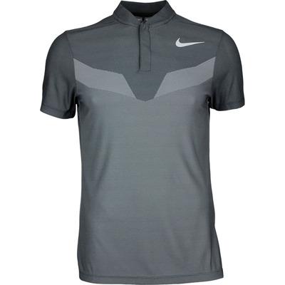 Nike Golf Shirt Zonal Cooling MM Fly Blade Black SS17