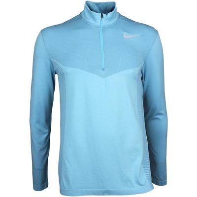 Nike Golf Pullover NK Dry Half Zip Vivid Sky SS17