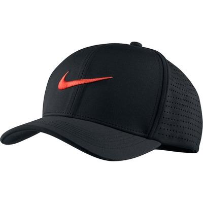 Nike Golf Cap NK Aerobill Classic 99 Black Max Orange SS17