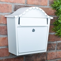 London White Letterbox - not personalised