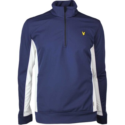 Lyle Scott Golf Pullover Huntley Thermal Navy SS17