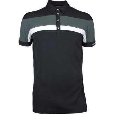 Galvin Green Golf Shirt MITCHELL Ventil8 Plus Black SS17