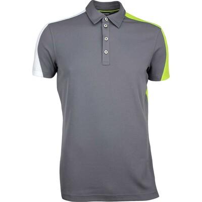 Galvin Green Golf Shirt MELVIN Ventil8 Iron Grey SS17