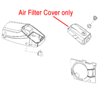 Image of Mitox Chainsaw Air Filter Cover MIYD45-4.05.00-1