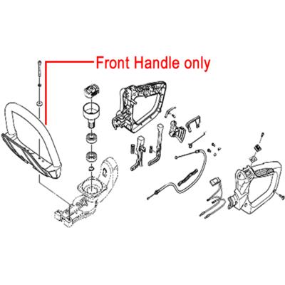 Hitachi Hitachi Front Handle for CH62EA3 2010 HedgeTrimmer HI6688096