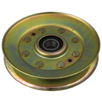 Image of John Deere Idler Pulley Sheave Assembly AM136357