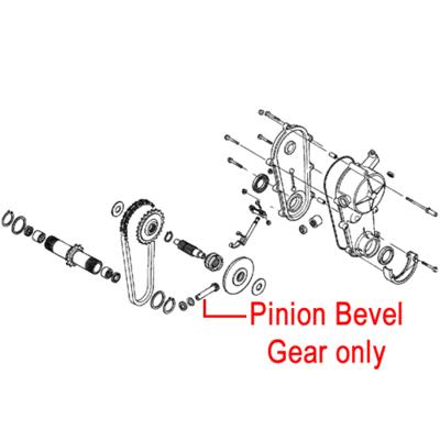 Honda Honda Lawnmower Pinion Bevel Gear 23411-VB3-801