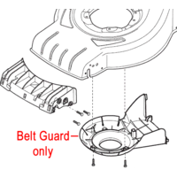 Image of Mountfield Belt Protection Guard 322060241/0