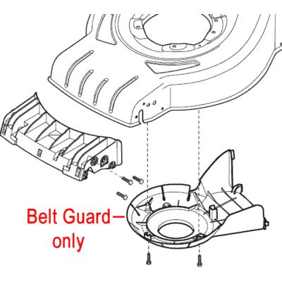 Mountfield Mountfield Belt Protection Guard 322060241/0