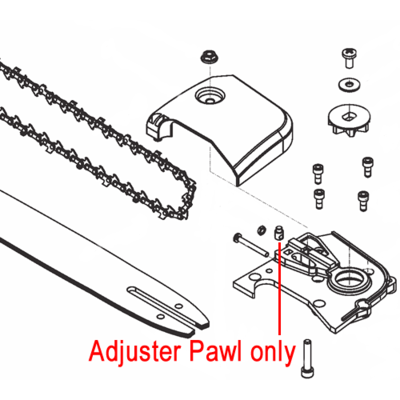 Mitox Mitox Pole Pruner Adjuster Pawl MIGJ330.1.3-2