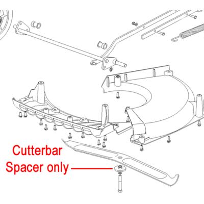 Hayter Hayter Cutterbar Distance Spacer HY4014