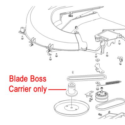 Hayter Hayter Harrier Blade Boss Carrier 560012