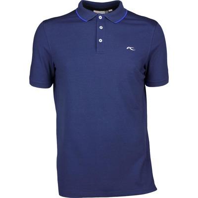 KJUS Golf Shirt STAN TOUR Atlanta Blue SS17