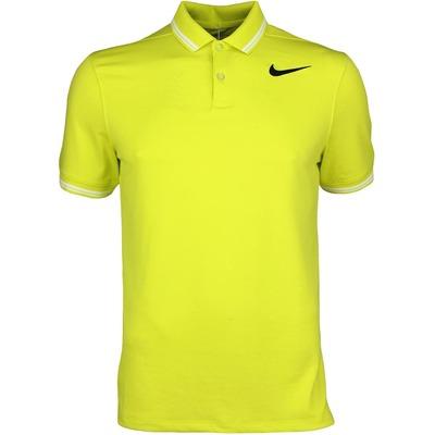 Nike Golf Shirt NK Dry Tipped Electrolime SS17