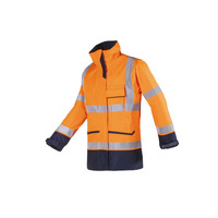 Falcon 7229 FR AST High Vis Orange Rain Coat