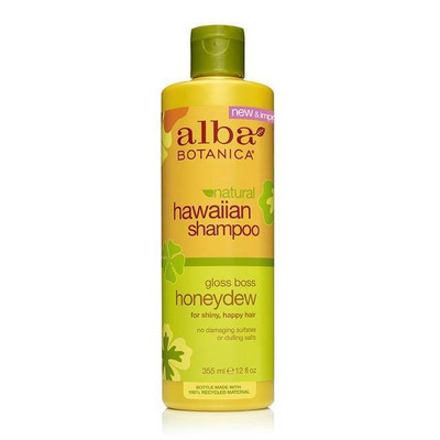 Alba Botanica Gloss Boss Honeydew Natural Hawaiian Shampoo 350ml