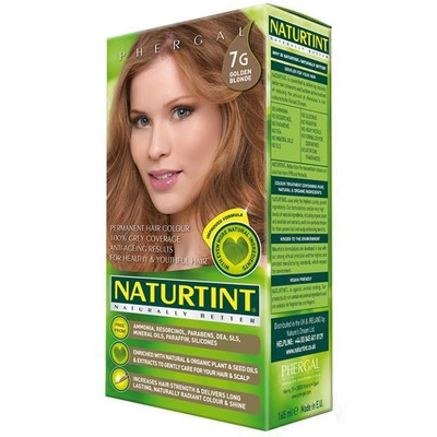Naturtint Permanent Natural Hair Colour 7G Golden Blonde 170ml