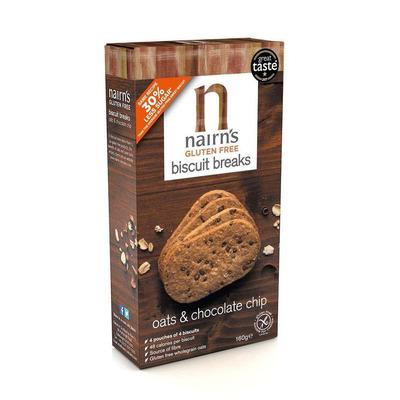 Nairn's Gluten Free Chocolate Chip Biscuit Breaks 160g