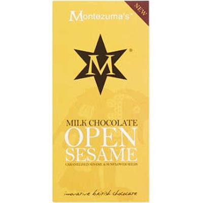 Montezumas Milk Chocolate Open Sesame Bar 100g