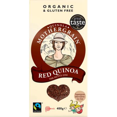Quinola Mothergrain Organic Red Quinoa 500g