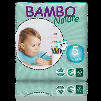 Bambo Nature Junior Nappies - Size 5