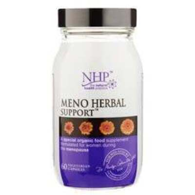 Natural Health Practice Meno Herbal Support 60 Capsules