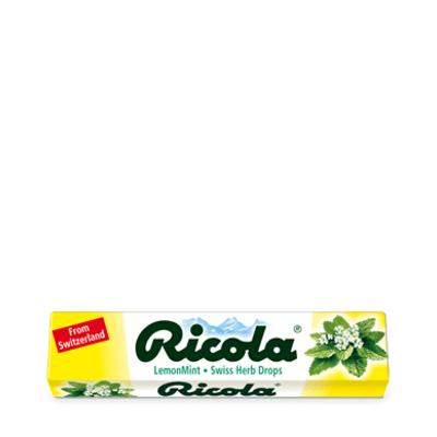 Ricola Refreshing Lemon Mint Swiss Herbal Sweets 32g